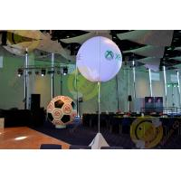 Wholesale 2.5m White Attractive Round Inflatable Helium Balloon with RGB LED Lighting from china suppliers