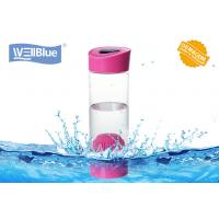 China Smart PH Hydrate Glass Alkaline Water Bottle , Portable Filtered Water Bottle Ionize on sale