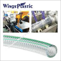 Wholesale PVC Spiral Steel Wire Reinforced Hose Making Machine / Extrusion Line from china suppliers