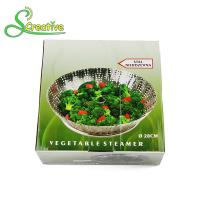 Wholesale Stackable Collapsible Stainless Steel Vegetable Steamer Basket Insert Food Grade from china suppliers