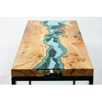 China Non Yellowing Crystal Wood Epoxy resin Adhesive P-128 for River Table on sale