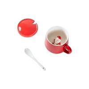 Wholesale Glaze 350ml 13x9.5x9cm Christmas Ceramic Mugs from china suppliers