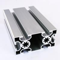 Wholesale Silver anodized Aluminum T slot 40*80mm Size with Bolts and Nuts from china suppliers