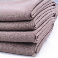 Wholesale Best Sell Rusha Textile Single Jersey Plain Dyed 96% Viscose 4% Spandex Open End OE Spun Rayon Elastic Knitted Fabric from china suppliers