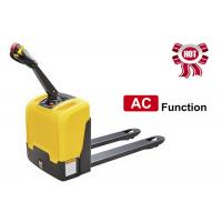 Wholesale AC Function Walkie Electric Pallet Jack , Narrow Space Motorized Pallet Jack from china suppliers