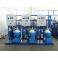 Wholesale Self Cleaning Fuel Oil Treatment System , Fuel Oil Purifier Separator 5000 L/H from china suppliers