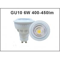 Wholesale High quality 6W  AC85-265V LED Spotlight GU10 450-450lm LED bulb GU10 dimmable/nondimmable from china suppliers
