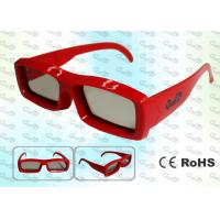 Wholesale OEM Cinema Imax Linear polarized 3D glasses from china suppliers