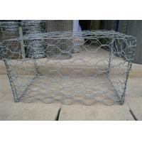 Wholesale Woven Wire Mesh Gabion Box Rock Mattress for River Protection Grey Colour from china suppliers