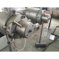 Wholesale Dual Conduit PVC Pipe Extrusion Line UPVC CPVC PVC Plastic Processing from china suppliers