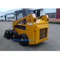 Wholesale New Technology Wheel Skid Steer Loader Rated Flux 40 L/Min With Steel Tyre Track from china suppliers