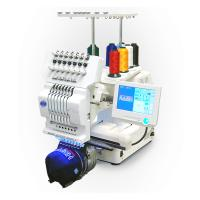 Wholesale Commercial Single Head Computer Embroidery Machine For Cap / T - Shirt / Flat Embroidery from china suppliers