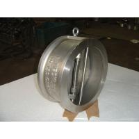 Wholesale Small and Light Weight Stainless Steel, DIN 2501 PN6 / PN10 Flange Wafer Check Valve from china suppliers