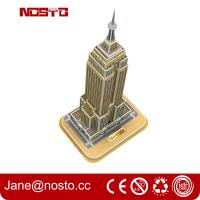 Wholesale 3D Building Puzzle for Empire State Building Construction Model and Set from china suppliers