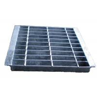 China Electroforged Steel Grate Drain Cover, Galvanised Steel Grate And Frame on sale