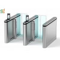 Wholesale Automatic Supermarket Swing Gate,Face recognition Glass Arm Turnstile Systems from china suppliers