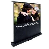 Wholesale Cynthia Floor Stand Scissor Pull Up Projector Screen from china suppliers
