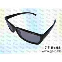 Wholesale Black Cinema Circular polarized Reald 3D glasses from china suppliers