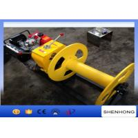 China Cable Pulling Gas Powered Winch Air Cooled Diesel Engine 840×600×500 on sale