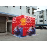 Wholesale 3.5m attractive filled cube balloon with four sides digital printing for Political events from china suppliers