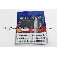 Wholesale Plastic Self Sealing Humidity Fresh Cigar Packaging Bag Resealable Ziplock Open And Close from china suppliers