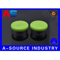 Wholesale 20# Green Flip Off Vial Caps Plastic Tops 135 Degree Centigrade For Sterilized Vials from china suppliers