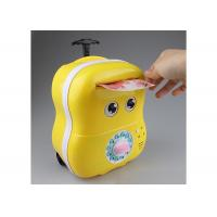 Wholesale Lovey Electric Smart Money Saving Box Trolley With Music For Kids Cartoon Style from china suppliers