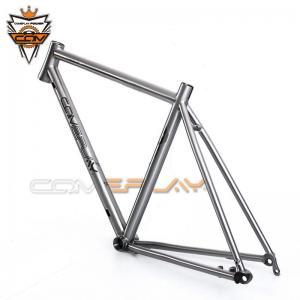 Wholesale Ti Road Bike Frame Titanium Gravel Bike Frameset Tapered Headset 142mm from china suppliers