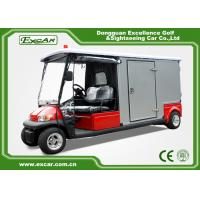 Wholesale Red 2 Passenger Electric Ambulance Car For Emergency Closed Type from china suppliers