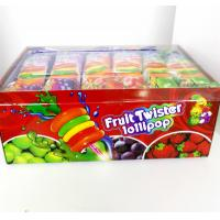 Wholesale Colorful Multi Fruit Flavor Twist Lollipop Sweet And Healthy with Fluorescent sticks from china suppliers