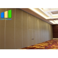 Wholesale Hanging System Laminate Sound Proofing Foldable Room Dividers With Wheels from china suppliers