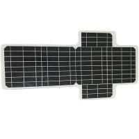 Buy cheap Monocrystalline Foldable Solar Panel For Camping High Efficiency 19V 50 W from wholesalers