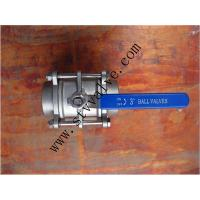 Wholesale Socket Welded Ball Valve 3PC from china suppliers
