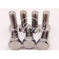 Wholesale Polished Titanium Hex Head Bolts High Corrosion Resistance  Outdoor Projects Supply from china suppliers