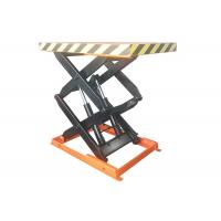 Wholesale 1000kg Stationary Scissor Lift Table With Max Lift Height 1000mm 1.5kw Power from china suppliers