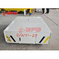 China 25t mold handling electric trackless car on concrete ground battery power on sale