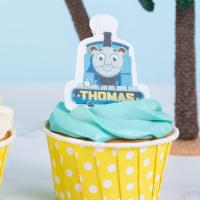 Wholesale Popular Edible Wafer Card Thomas The Tank Engine Cupcake Toppers Unique Style from china suppliers