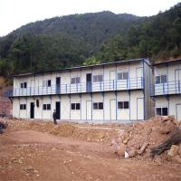 China light steel structure prefab eco homes with kitchen and bathroom for living house on sale