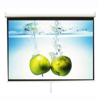Wholesale Cynthia Screen Wall mount manual self lock projection screen from china suppliers