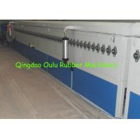 China Natural Gas Heating Rubber Extrusion Line For Solid Foam Sealing Strip on sale