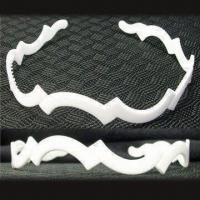 Wholesale Headband, Various Sizes are Available, Comes in White, Made of Plastic from china suppliers