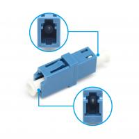 Wholesale Single Mode Plastic Fiber Optic Adapter LC UPC Simplex LC/UPC To LC/UPC from china suppliers