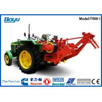 China Self-propelled Pulling Tractor Machine Groove number 8 Bull wheel 450mm Max steel rope 18mm on sale