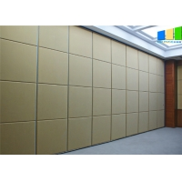 Wholesale Modern Melamine Surface Folding Partition Walls / Sound Proof Room Partitions from china suppliers