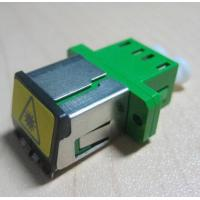 Wholesale Duplex LC metal shuttered Fiber Optic Adapter single mode or multimode from china suppliers