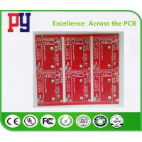 Wholesale Red Solder Mask Electronic Circuit Board Assembly , Double Sided Pcb Board 2oz from china suppliers