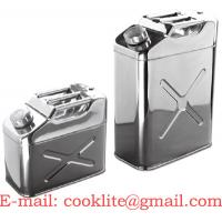 Wholesale Stainless Steel Jerry Can / Oil Drum / Fuel Tank (10L/20L) from china suppliers