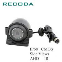 China IP68 Waterproof Police Car Cameras CMOS Side Views AHD 1.0/1.3/2.0MP 10 Infrared LEDS on sale