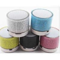 Wholesale Portable Wireless Bluetooth Speaker with Colorful LED Light and Compatible with all Bluetooth Devices,3.5mm jack from china suppliers