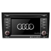 China AUDI A4 car dvd player with gps navigation system on sale